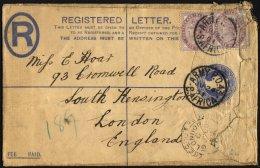 BRITISCHE MILITÄRPOST 65 BRIEF, 1901, 1 P. Königin Victoria (2x) Auf Feldpost-Einschreibbrief Mit K1 ARMY P.O.