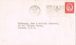19800. Carta LONDON (englan) 1957. Jubilee World Scout