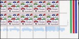 BUNDESREPUBLIK 1897KB **, 1997, 100 Pf. Mehr Sicherheit Für Kinder Im Straßenverkehr Im Stark Verzähnten