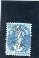 TASMANIE 1864-70 O