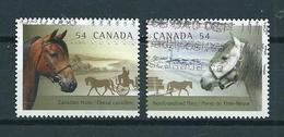 2009 Canada Complete Set Canadian Horses,cheval,pferde Used/gebruikt/oblitere