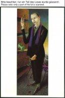 GANZSACHEN PP 18 BRIEF, 10 Pf. Orange, 10 Verschiedene Künstlerkarten, Ungebraucht, Pracht