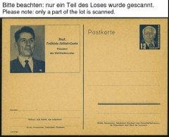 GANZSACHEN A. P40/02-P 109/03 BRIEF, 1950-1990, 150 Meist Verschiedene Ganzsachen, Ungebraucht Und Gebraucht, Dabei Eini