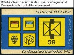 ZUSAMMENDRUCKE SMHD 11 **, 1982, Markenheftchen Selbstbedienung - Postsymbole, 6 Verschiedene Heftchen (ab,ac,ad,cb,cd,c