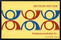 ZUSAMMENDRUCKE SMHD 10Ife **, 1978, Markenheftchen 6 Posthörner In Dunkelkobaltblau/bräunlichrot, Karton Mitte
