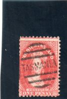 TASMANIE 1864-70 O DEFECTEUX