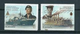 2010 Canada Complete Set Canadian Navy Used/gebruikt/oblitere