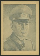 PROPAGANDAFÄLSCHUNGEN 1942, Front-Feldpostkarte Weißt Du, Wer Das Ist? - General List, Ungebraucht, Ohne Eing