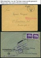 FELDPOST II. WK BELEGE 1939-44, 11 Verschiedene, Teils Interessante Feldpost-Belege, Besichtigen!