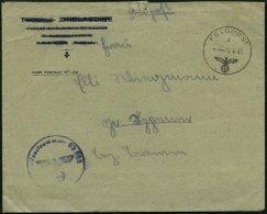 FELDPOST II. WK BELEGE 19.4.1943, Feldpostbrief Mit Inhalt Aus Afrika, Absender Feldpostnummer 19648, Pracht