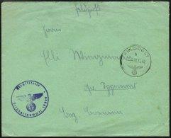 FELDPOST II. WK BELEGE 31.12.1942, Feldpostbrief Aus Afrika Mit Inhalt, Briefstempel Der Feldpostnummer 19648, Pracht