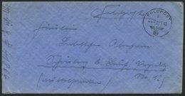 FELDPOST II. WK BELEGE 27.5.1942, Feldpostbrief Des Afrikakorps Sonderverband 288, FP-Nummer 41864 (4. MG-Komp.), Pracht
