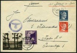 FELDPOST II. WK BELEGE 1942, Feldpostbrief Von GLÜCKTADT Nach Berlin, Dort Mit Rohrpost Befördert, Pracht