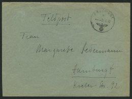 FELDPOST II. WK BELEGE 1.6.1942, Feldpostbrief Des Afrika Sonderverbandes 288, Feldpostnummer 23357, Pracht, Signiert Ke