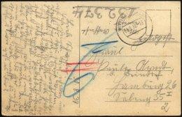 FELDPOST II. WK BELEGE Übungspost 1939: Feldpost-Ansichtskarte Aus Wittingen Mit Sechsstelliger Übungspost-Num