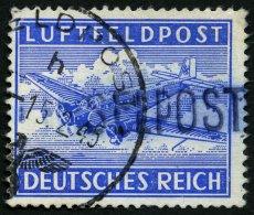 FELDPOSTMARKEN 11Aa O, 1945, Insel Leros, Gezähnt, Aufdruck Schwarzblauviolett, Feinst (Zähnung Teils Etwas St
