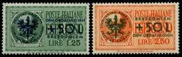 LAIBACH 31/2 *, 1944, Obdachlose, Falzrest, Pracht, Mi. 130.-
