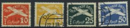 FREIE STADT DANZIG 299-301 O, 1938, 15 - 50 Pf. Flugpost, 3 Prachtwerte