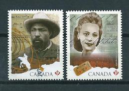 2012 Canada Complete Set Irene Davis Desmond,John Ware Used/gebruikt/oblitere