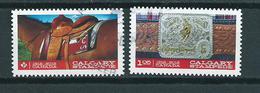 2012 Canada Complete Set 100 Years Calgary Stampede Used/gebruikt/oblitere
