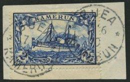 KAMERUN 17 BrfStk, 1900, 2 M. Schwärzlichblau, Prachtbriefstück, Mi. (90.-)