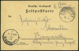 DSWA KEETMANSHOOP, 10.6.05, Feldpostkarte Von Koes Nach Bayreuth, Pracht