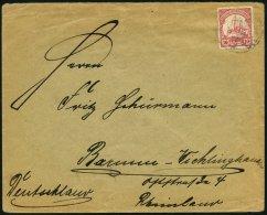 DSWA 26 BRIEF, GOBABIS, 23.5.12 (schwach) Auf Brief Mit 10 Pf. Lebhaftkarminrot Von RIETFONTEIN POST GOBABIS Nach Barmen