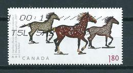 2012 Canada $1.80 Joe Fafard,cheval,pferd,horse Used/gebruikt/oblitere