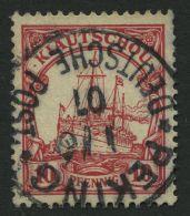 DP CHINA P VIc O, Petschili: 1901, 10 Pf. Kiautschou, Stempel PEKING, Pracht, Signiert Pauligk, Mi. 380.-