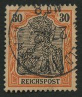 DP CHINA P Ve O, Petschili: 1900, 30 Pf.Reichspost, Stempel K.D. FELD-POSTSTATION No. 8, Pracht, Mi. 320.-
