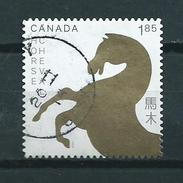 2014 Canada $1.85 Year Of The Horse Used/gebruikt/oblitere