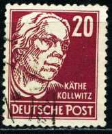 A11-39-6) DDR Michel 333 - OO Gestempelt (C) - 20Pf  Käthe Kollwitz