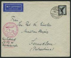 ZEPPELINPOST 23IA BRIEF, 1929, Orientfahrt, Auflieferung Friedrichshafen, Frankiert Mit Einzelfrankatur Mi.Nr. 383, Prac