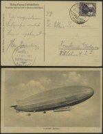 ZEPPELINPOST 19F BRIEF, 1919, Luftschiff Bodensee, Poststempel Burgstall/Krs. Wolmirstedt Von Der Notlandung Am 3. Novem