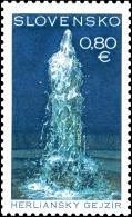 Slovakia 2016 Mih. 797 UNESCO World Heritage. Geyser Of Herlany MNH ** - Nuevos