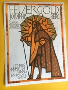 2232 - Suisse Valais Johannisberg Feuergold Roi-soleil 1993 - Etiquettes
