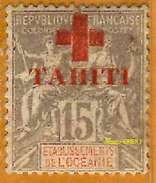 Tahiti 1915 P 35 Sans Gomme              La Photo Est Celle Du Produit Fourni. - Tahiti