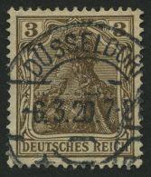 Dt. Reich 84IIb O, 1918, 3 Pf. Schwärzlichbraun Kriegsdruck, Pracht, Gepr. Zenker, Mi. 140.-