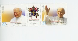 Angola 2003-Pape JP II-1565/6-***MNH