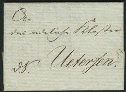 SCHLESWIG-HOLSTEIN 1814, D.S. Mit Interessantem Inhalt Nach Uetersen Der Provisorischen/Verwaltungs-Commission/des Herzo