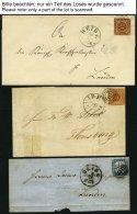 SCHLESWIG-HOLSTEIN Hochinteressante Sammlung HEIDE I. HOLST. Aus Den Jahren 1850-1970, Mit über 1100 Belegen In 17