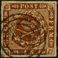 SCHLESWIG-HOLSTEIN DK 7 O, 143 (LUNDEN) Auf 4 S. Liniert, Pracht