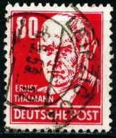 A11-39-6) DDR Michel 340 - OO Gestempelt (A) - 80Pf  Ernst Thälmann
