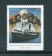 2014 Canada $2.50 Komagata Maru Used/gebruikt/oblitere