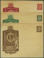 BAYERN PU 31/2,34 BRIEF, Privatpost: 1914, 3, 5 Und 10 Pf. Wappen Ludwig III. König V. Bayern, Ungebraucht, 3 Prach