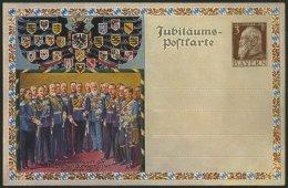 BAYERN PP 22C4/02 BRIEF, Privatpost: 1913, 3 Pf. Luitpold 100 Jahrfeier Der Deutschen Befreiungskämpfe, Ungebraucht