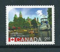 2014 Canada $2.50 The Rideau Canal Used/gebruikt/oblitere