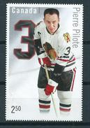 2014 Canada $2.50 Pierre Pilote,icehockey Used/gebruikt/oblitere