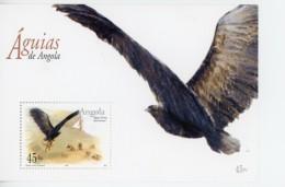Angola 2003-Aigles-YT 1559/62+B107***MNH
