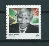 2015 Canada Nelson Mandela Used/gebruikt/obliter5